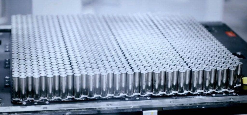 Tesla-battery-cells