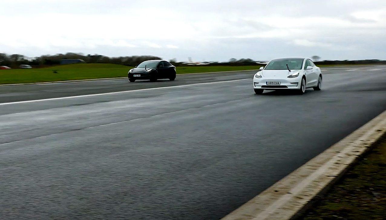 tesla-2020-model-3-vs-2021-model-3-drag-race