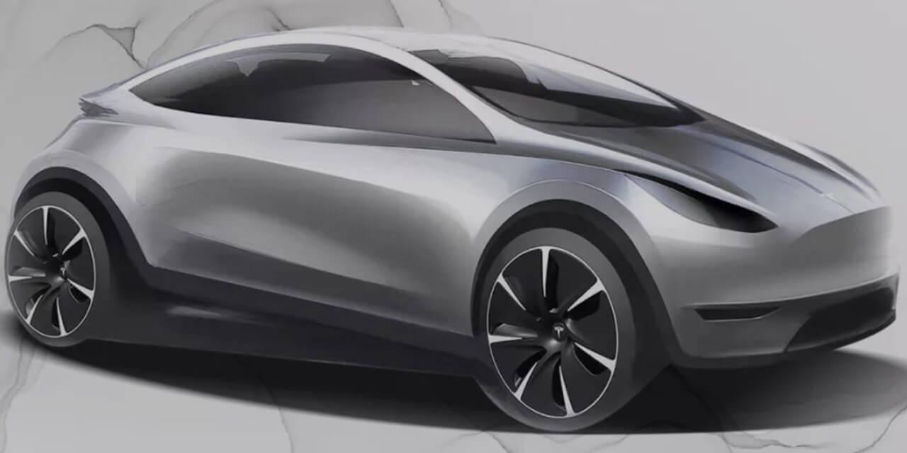 Tesla-Hatchback-Drawing